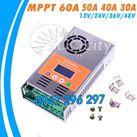 Điều khiển sạc pin mặt trời MPPT 40A LCD - 12V/24V/48V Auto