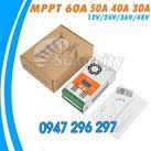 Điều khiển sạc pin mặt trời MPPT 50A LCD - 12V/24V/48V Auto