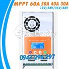 Điều khiển sạc pin mặt trời MPPT 30A LCD - 12V/24V/36V/48V Auto