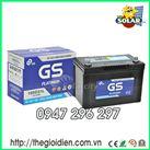 Ắc quy ô tô GS khô 12v-90Ah (MF105D31)