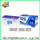 Ắc quy ô tô GS nước 12v-100Ah (N100)