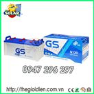 Ắc quy ô tô GS nước 12v-120Ah (N120)