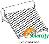 Cách lắp đặt Máy nước nóng năng lương mặt trời Solarcity DẠNG ỐNG