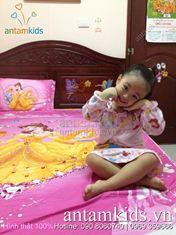 Chăn ga gối cho bé gái HinhThat01 - Hình thật 100%