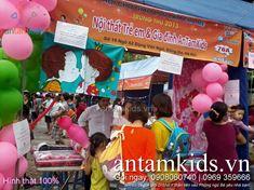 AnTamKids tại Hội chợ Lamchame HinhThat24 - Hình thật 100%