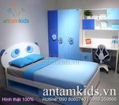 Phòng ngủ trẻ em cao cấp Tomy Niki HinhThat06 - Hình thật 100%