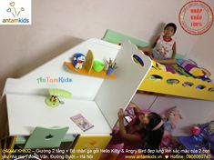Giường 2 tầng cho bé trai bé gái HinhThat09- Hình thật 100%