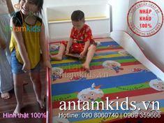 Giường ô tô cho bé trai mê xe hơi HinhThat07 - Hình thật 100%