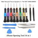 Bộ dụng cụ mở và sửa chữa iPhone chất lượng tốt 16 trong 1 hãng Kaisi