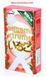 Bao cao su Sagami Strawberry - Hương dâu kích thích cảm giác, giá rẻ