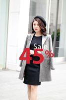Áo dạ giảm 45%