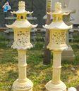 Đèn đá màu vàng N01