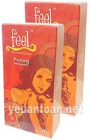 Bao cao su Feel Prolong 3in1