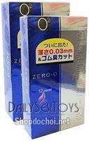 Bao cao su Fuji Zero-O 0,03 mm Siêu mỏng ,siêu trơn