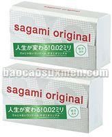 Bao cao su Sagami Original 0,02 mm siêu siêu mỏng