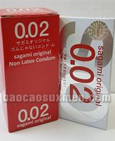 Bao cao su Sagami Original siêu siêu mỏng 0,02 mm