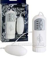 Trứng rung tình yêu Doc Johnson White Night - Hàng xịn Mỹ