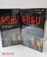 Bao cao su SuSu - Nhật Bản ,siêu mỏng kéo dài thời gian