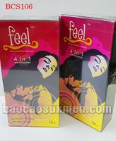 Bao cao su Feel Long 4in1