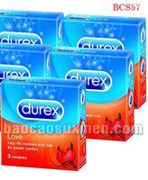 Bao cao su Durex Love