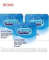 Bao cao su Durex Extra Safe
