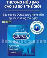 Bao cao su Durex Comfor
