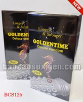 Bao cao su Goldentime Longer Stronger