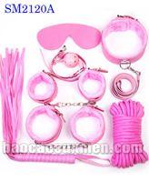 Bộ dụng cụ bạo dâm 7 in 1 màu hồng