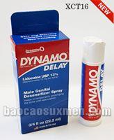Trị dứt điểm xuất tinh sớm - thuốc xịt Dynamo Delay - Mỹ