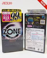Bao cao su Jex Zone 001 siêu mỏng siêu trơn