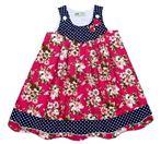 Váy thô viền chân hoa HM.  Size 1-7 dây 7 Chất rất đẹp