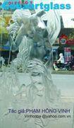 Tranh kính điêu khắc không màu -vinhcoba