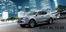 Xe Mitsubishi Triton 2018 số sàn 2 cầu, máy dầu