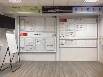 HÌNH ẢNH: LĐ bảng trượt dọc cho công ty ABB Bắc Ninh