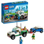 Đồ chơi xếp hình Lego City 60081 – Xe bán tải cứu hộ