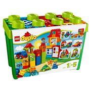 Đồ chơi xếp hình Lego Douplo 10580 - Thùng Gạch Douplo Vui Nhộn Cao Cấp