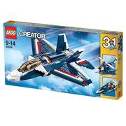 Đồ chơi xếp hình Lego Creator 31039 - Máy Bay Phản Lực Màu Xanh