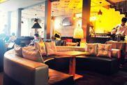 Sofa nỉ,da cho cafe YS 024