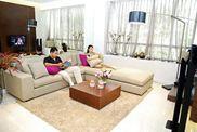 Bàn ghế sofa nỉ,vải,da phòng khách YF 030