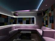 Sofa karaoke nỉ,vải,da YSK 003