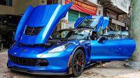 Chevrolet Corvette Z06 màu xanh dương đầu tiên về Việt Nam