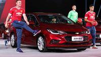Chevrolet Cruze 2016 mới của Mỹ tấn công thị trường Trung Quốc bằng dàn sao MU