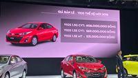 Toyota Việt Nam ra mắt bộ đôi Vios & Yaris 2018 mới, giá từ 531 triệu đồng