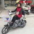Xe lăn điện cho người khuyết tật, người già HA 689G
