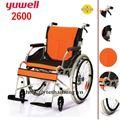 Xe lăn hợp kim nhôm cao cấp YUYUE/Yuwell 2600