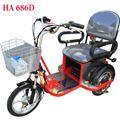 Xe lăn điện 3 bánh HA686D giá rẻ cho người già, người khuyết tật