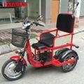 Xe lăn điện ba bánh HA699D có 2 ghế ngồi cho người lớn và trẻ em