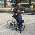 Xe lăn điện đứng cao cấp Đài Loan phục hồi chức năng chân