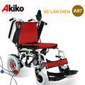 Xe lăn điện cao cấp nhập khẩu Akiko A97 hai bộ đệm