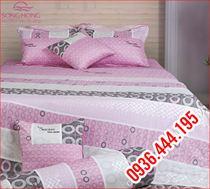 Chăn ga gối Home H13 014, ga rèm cho giường 1.8 x 2.0m